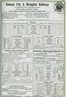 289--1916 Kansas City & Memphis RR Officers & time tables.jpg