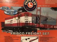 FRISCO FAST FREIGH O-27 Lionel Train Set.jpg