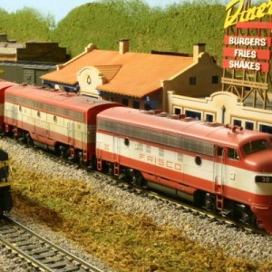 Athearn Genesis F7's DCC sound equiped. 