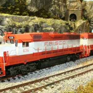 Atlas GP38AC DCC
