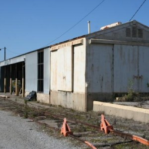 the RIP track work shed