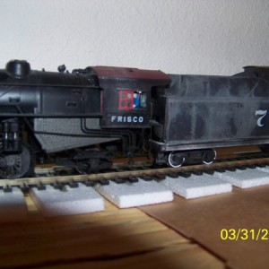 My Wifes First Locomotive 2-10-2 #7