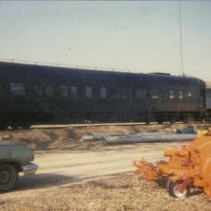 Another shot of #3 on the spur north of the high line main at Belton, MO 1991