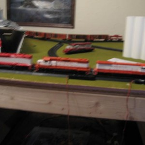 an over view of my 3 loco consist