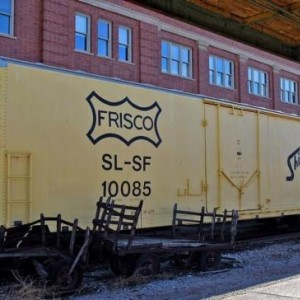 frisco box car 10085