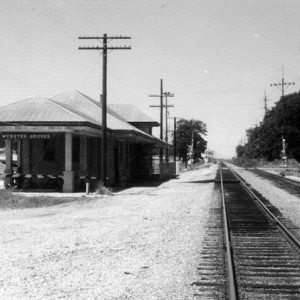 FRISCO WEBSTER GROVES DEPOT 1974