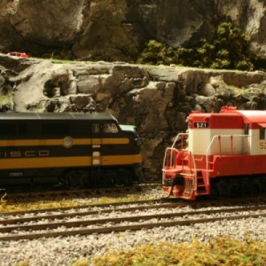 Athearn Genesis F3 DCC sound equipped and. Life Like P2K GP7 DC
