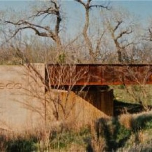Frisco Old K96 Overpass3 - West of Beaumont, South of El Dorado, East of Haverhill and Picknell Corner - Kodak print - 1990s