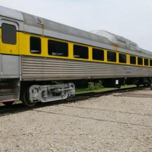 Former Boston & Maine passenger cars used for excursion.
