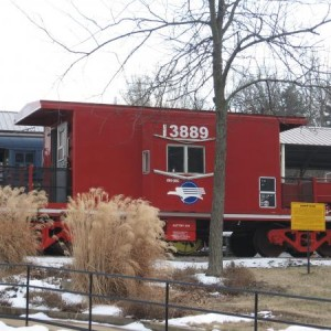 Mop interchange caboose #13889