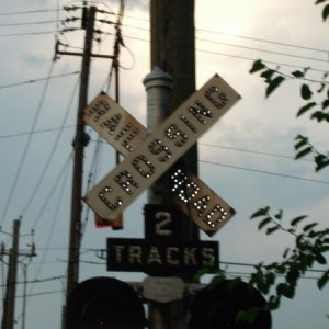RR Crossing at 30th St and 10th Ave North Bham, AL