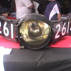 The headlight of my favorite non-Frisco steam locomotive.