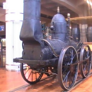 Heres a replica of the Dewitt Clinton.