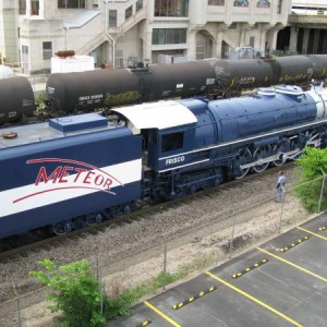 We moved her on May 2, 2010 right past Union Depot, Tulsa. That's right. I was there. Ask me.
