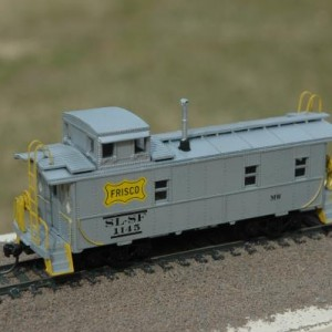 Maintenance of Way Caboose 1145