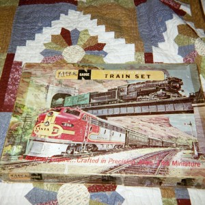 Atlas N scale train