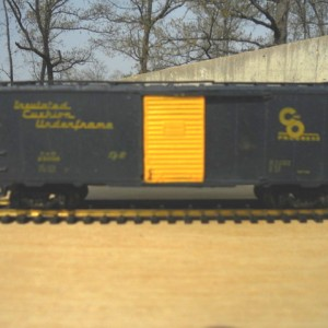 C&O boxcar brought back from the dead