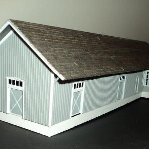 Scammon Depot w Shingles added - Front, End
