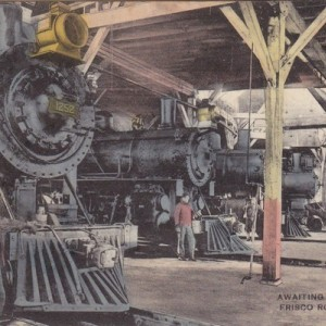 Postcard Roundhouse
