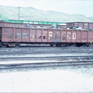 Gondola 55536 - May 1985 - Livingston, Montana