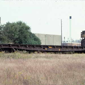 Flat Bulkhead 50ft 5222 - October 1983 - Springfield, Missouri