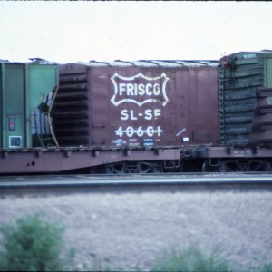 Boxcar 40601 - May 1985 - Billings, Montana