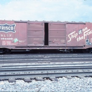 Boxcar 154400 - May 1985 - Billings, Montana