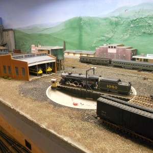 Ft. Smith Roundhouse and Turntable