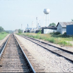 Lowell, Arkansas - July 1989 - Looking South from McClure Avenue