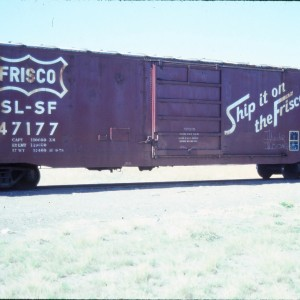 Boxcar 47177 - May 1985 - Great Falls, Montana