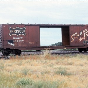 Boxcar 154357 - August 1984 - Shelby, Montana
