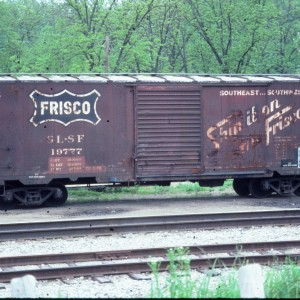 Boxcar 19777 - May 1985 - Hardy, Arkansas