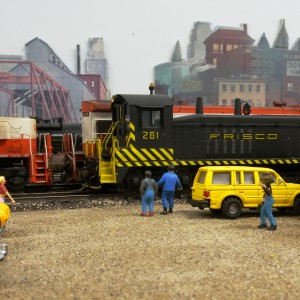 Tom Holley's HO Model Railroad