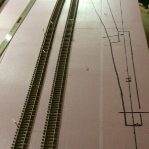 Mar Apr 2013 1 ... Drawing the track layout for section 4 (lower level). These storage / staging tracks won't be seen, but they'll also be a little to
