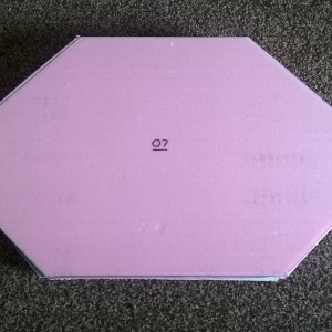 Module 07 with pink 1 inch foam attached