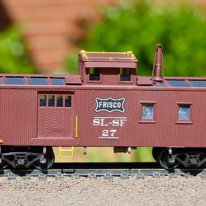 Hallmark side door caboose 27