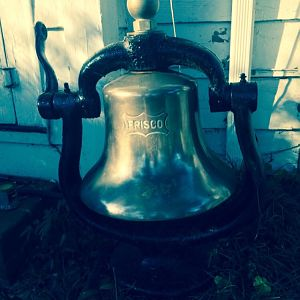Frisco Train bell 1014