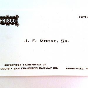 Business Card for John Moore