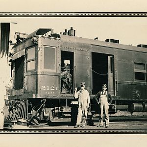 Gas-electric 2121 A