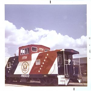 SLSF Caboose 1776 3/4 View