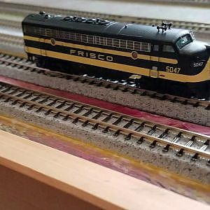 No Motor from my Frisco N Scale Intermountain FP7A with MRC Sound DCC Decoder - YouTube