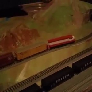 Frisco Railroad in N Scale - YouTube