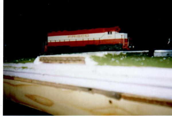 A custom painted old school Athearn SD-45. I hope to purchase the new 45 made by Athearn soon.