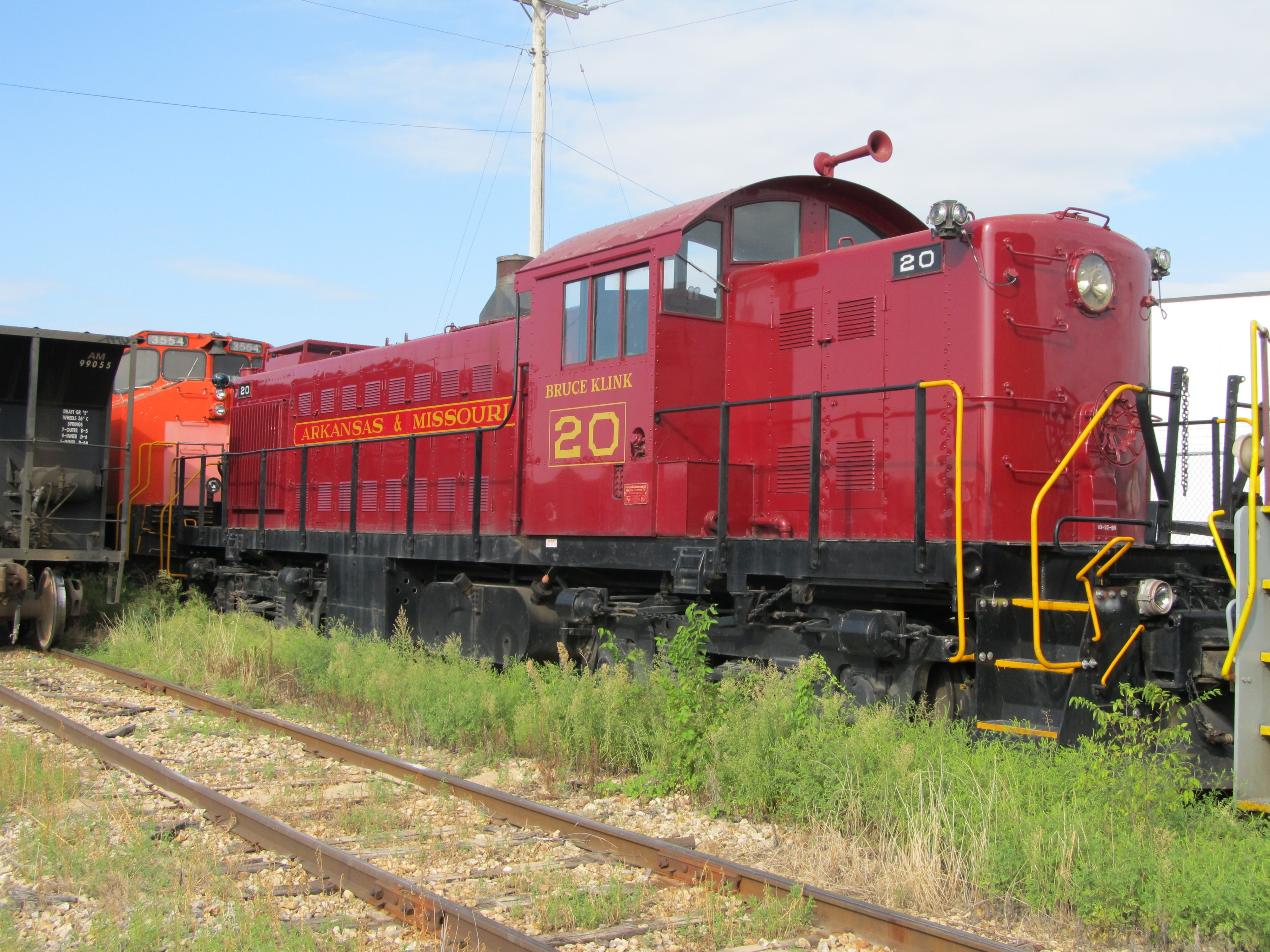 A&M #20 a Alco RS-1 built in 1951 at Springdale,AR