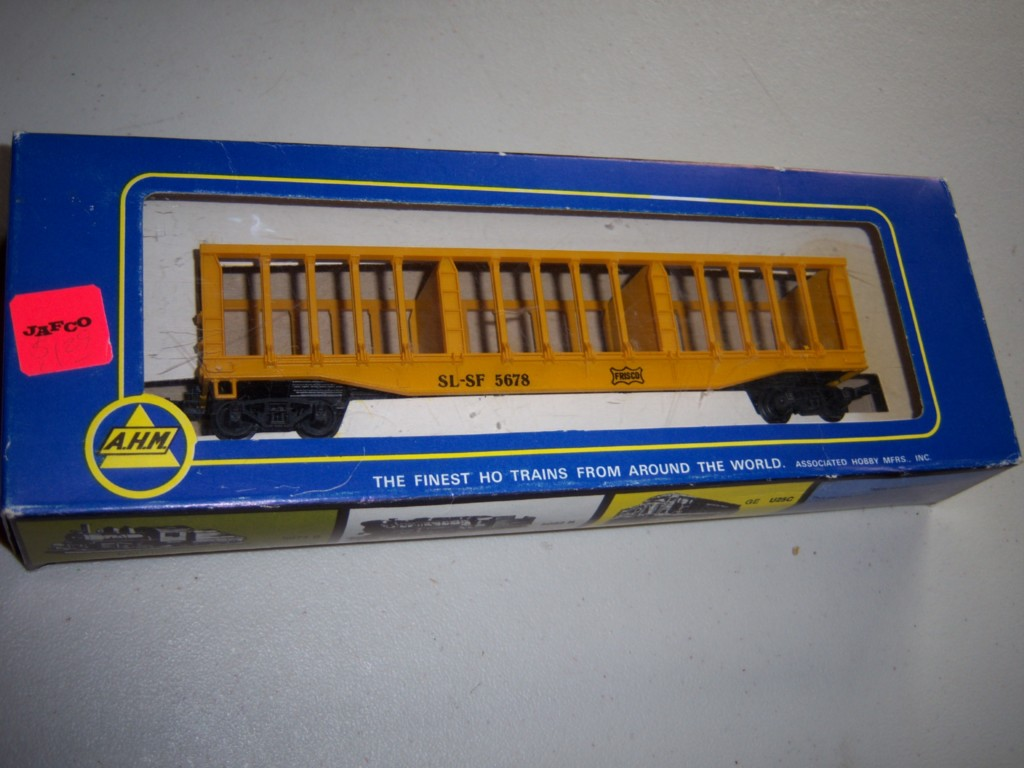 AHM Frisco pulpwood rack car