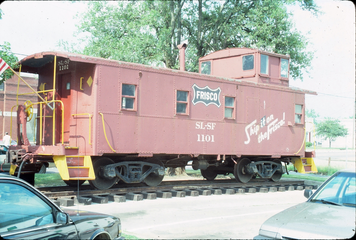 Caboose 1101 - July 1989 - Rogers, Arkansas