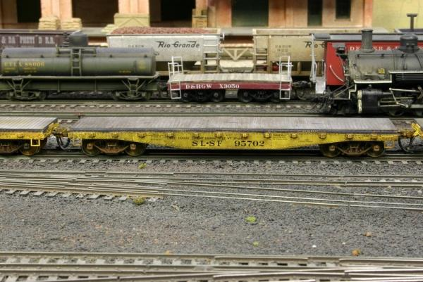 Custom SLSF 95703 from the Texas Western Model Railroad Club store.  Weathering by Mike Corley