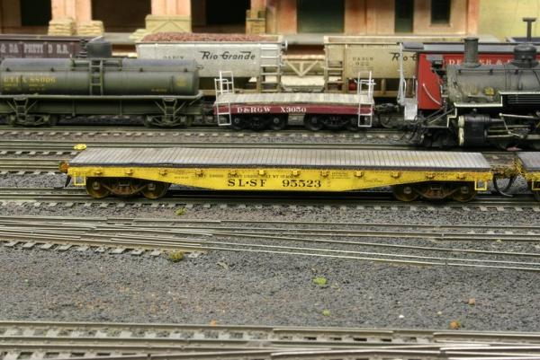 Customer SLSF 95523 from the Texas Western Model Railroad Club store.  Weathering by Mike Corley