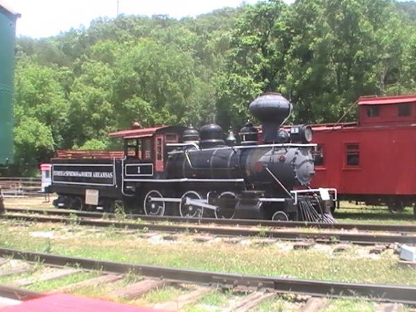 ES&NA signature locomotive #1.