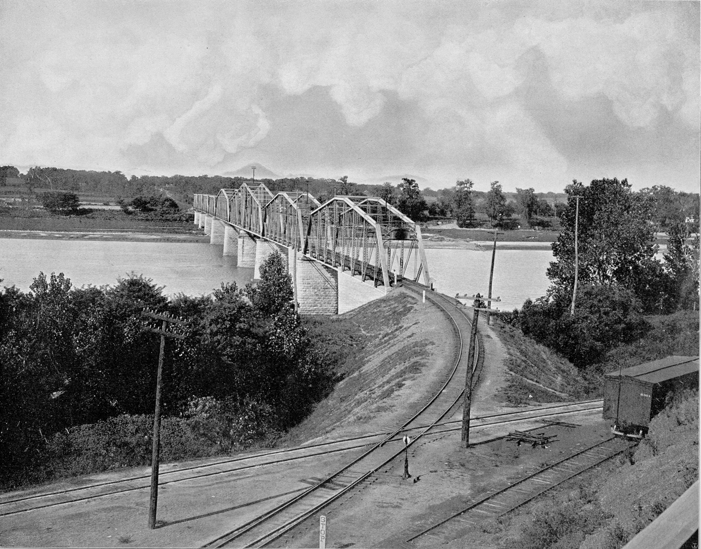 Frisco Bridge over Arkansas River